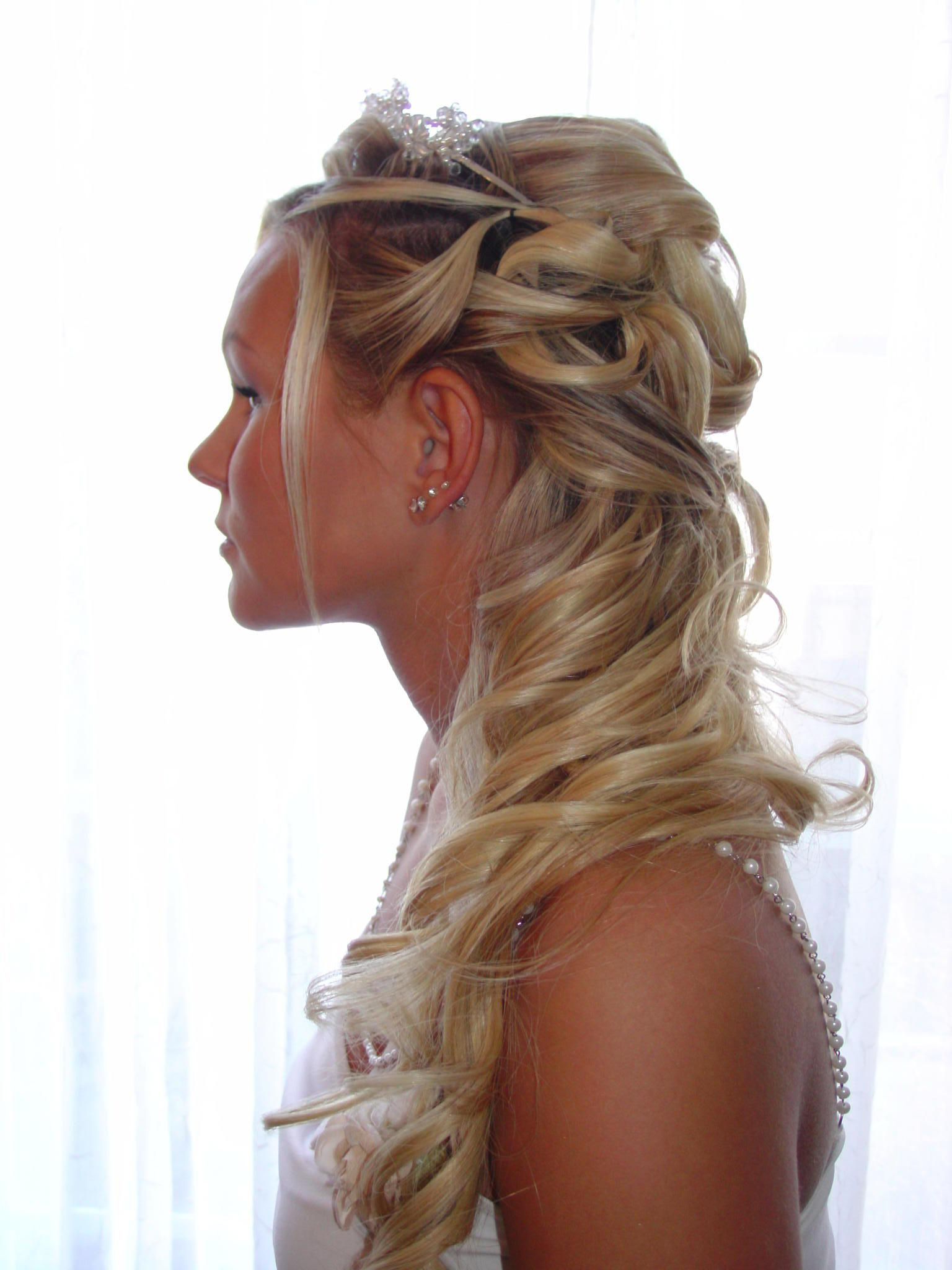 Enjoyable New Jersey Bridal Specialists On Location Up Do Styles Bridal Hairstyle Inspiration Daily Dogsangcom